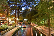 Riverwalk Photo Prints - The Riverwalk Print by David Morefield