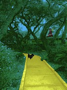 Children Digital Art Art - The Road To Oz by Methune Hively