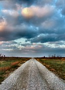 Julie Dant Photography Photo Prints - The Road to Somewhere Print by Julie Dant