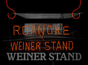 Hot Dog Posters - The Roanoke Weiner Stand 3 Poster by Teresa Mucha