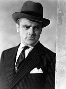 Pinstripe Suit Prints - The Roaring Twenties, James Cagney, 1939 Print by Everett