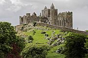 Ruin Photos - The Rock of Cashel Ireland in summer by Pierre Leclerc
