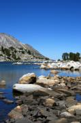 Mammoth Lakes Art - The Rocks of Treasure Lake by Chris Brannen
