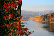 Susquehanna River Photos - The Rockville in Autumn by Lori Deiter