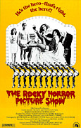 1970s Poster Art Framed Prints - The Rocky Horror Picture Show Framed Print by Everett