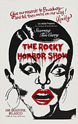 1970s Poster Art Framed Prints - The Rocky Horror Show, Poster Art Framed Print by Everett