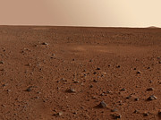 Astrogeology Photos - The Rocky Surface Of Mars by Stocktrek Images