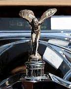 Rolls Royce Posters - The Rolls Royce Poster by Wingsdomain Art and Photography