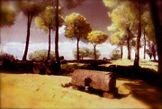 Brian Lukas Art - The Roman Graves of Spain by Brian Lukas