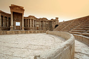 Palmyra Photos - The Roman Theatre, Palmyra by Joe & Clair Carnegie / Libyan Soup
