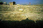 Osten Prints - The Roman Theatre Print by Tarek Charara