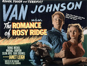 Posth Posters - The Romance Of Rosy Ridge, Van Johnson Poster by Everett