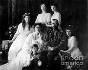 Heir Prints - The Romanovs, Last Royal Family Print by Photo Researchers