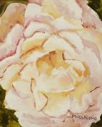 Layer Painting Posters - The Rose Poster by Katie OBrien - Printscapes