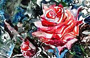 Love Drawings Originals - The Rose by Mindy Newman
