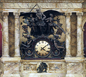 Greek Sculpture Posters - The Rotunda Clock Ca. 1890s By John Poster by Everett