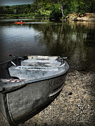 The Row Boat Print by Joan  Minchak
