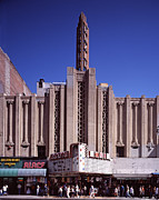 The Roxie Theater, Built By John M Print by Everett