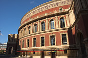 Outdoor Theater Prints - The Royal Albert Hall Print by Andrew  Michael