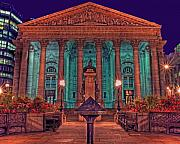 Strength Metal Prints - The Royal Exchange in The City London Metal Print by Chris Smith