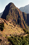 Old Ruin Metal Prints - The Ruins Of Machu Picchu, Peru, Latin America Metal Print by Brian Caissie