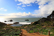 Bath-house Photos - The Ruins of Sutro Baths in San Francisco  . 40D4330 by Wingsdomain Art and Photography