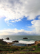 Adolph Art - The Ruins of Sutro Baths in San Francisco  . 40D4336 by Wingsdomain Art and Photography