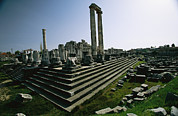 Turkey Metal Prints - The Ruins Of The Apollo Temple Metal Print by Tim Laman