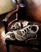 Still Life Digital Art Originals - The Runner by Bill Fleming