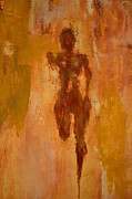 Jogging Paintings - The Runner- lifes journey  by Vincent Avila