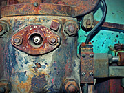 Machine Framed Prints - The Rusted Parts Framed Print by Tara Turner