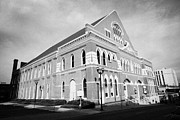 Gospel Photo Prints - The Ryman Auditorium former home of the Grand Ole Opry and gospel union tabernacle Nashville Print by Joe Fox