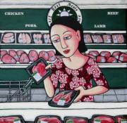 Supermarket Originals - The Sacred Heart by Bev  Aisbett