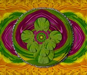 Tibetan Buddhism Prints - The Sacred Mandala Print by Pepita Selles