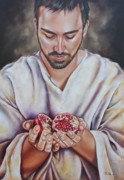 Ilse Kleyn Acrylic Prints - The sacrifice of Jesus Acrylic Print by Ilse Kleyn