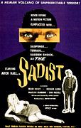 1960s Movies Posters - The Sadist, Helen Hovey, Arch Hall Poster by Everett