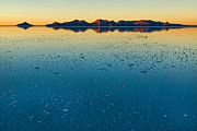 Highland Posters - The Salar de Uyuni after the rains. Republic of Bolivia. Poster by Eric Bauer
