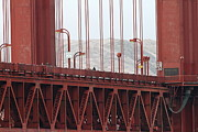 The San Francisco Golden Gate Bridge - 7d19060 Print by Wingsdomain Art and Photography