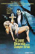 Rites Posters - The Satanic Rites Of Dracula, Aka Count Poster by Everett