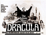 1970s Photo Posters - The Satanic Rites Of Dracula, Center Poster by Everett