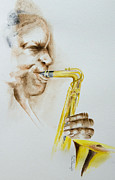Player Originals - The Saxophone Player by Alan Pickersgill