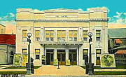Sayre Posters - The Sayre Theatre And Opera House In Sayre Pa In 1925 Poster by Dwight Goss