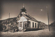 Yermo Framed Prints - The School House 3 Framed Print by Jessica Velasco