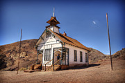 Yermo Framed Prints - The School House Framed Print by Jessica Velasco