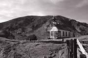 Schoolhouse Prints - The Schoolhouse in Calico Ghost Town California Print by Susanne Van Hulst