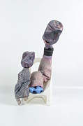 Family Sculpture Prints - The Scolding Print by Michael Jude Russo