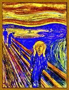 Manual Originals - The Scream by Vidka Art