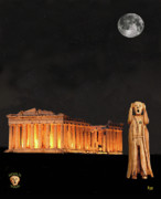Ancient Greek - The Scream World Tour Athens by Eric Kempson