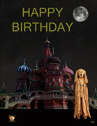 The Scream World Tour Moscow Happy Birthday Print by Eric Kempson