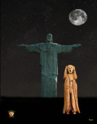 Redeemer Mixed Media - The Scream World Tour Rio by Eric Kempson